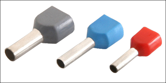 Twin Cord End Terminal Insulated Ferrules